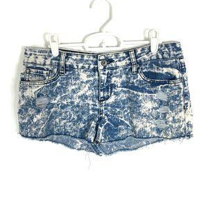 Lovesick Jean Shorts Cutoff Destroyed Denim 7 33x2